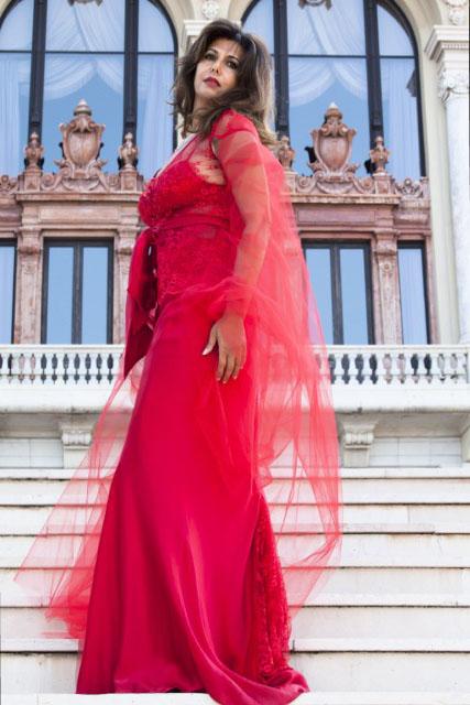 Angelica Cirillo - scalinata Monaco