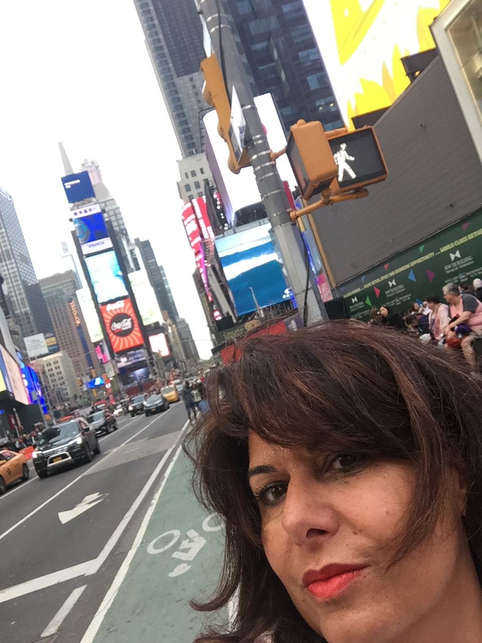 Angelica Cirillo a New York